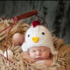 Newborn baby Crochet Yellow cute chick Outfit Hatl Set Photo Props for baby shower party costume