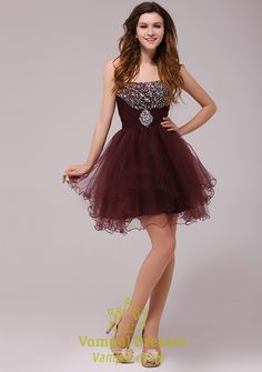 MAROON HOMECOMING DRESSES - Omenas Benen