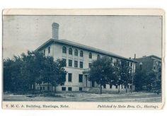 Vintage 1900's Hastings Nebraska Postcard YMCA Building Stein Brothers Company