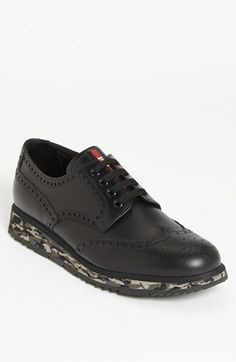 Prada Wingtip Sneaker.