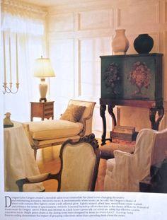 Frances Schultz Atlanta Townhouse - Living Room