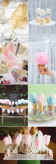 If you think cotton candy is for kids, it's time to refresh your thoughts! Cotton candy is not only a sweet treat that reminds us of childhood, but also a lovely addition to your wedding reception that serves both as snack and decoration! If you love all things sweet, pastel, and fluffy, why not show …