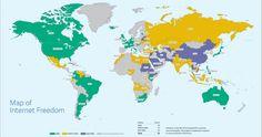 Freedom of the Net - Il Rapporto 2014 di Freedom House delinea un quadro mondiale in peggioramento per la libertà di espressione online.