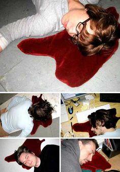 Funny pillow...kinda wrong...