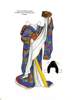 Kabuki Costumes Paper Dolls by Ming-Ju Sun - Dover Publications, Inc., 1995: Pate 15 (of 16)