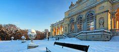 castle, art exhibition, and zoo - schloss schoenbrunn