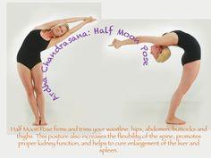 bikram half moon | Bikram Yoga Poses | Sacramento Bikram Yoga