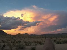 Big Bend Country stormy sunset by Frann Brothers