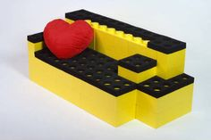 Life size lego couch