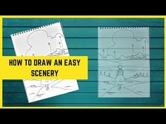 Drawing Videos For Kids, Drawing For Beginners, Beginner Art, Scenery, The Creator, Drawings, Color, Landscape, Colour