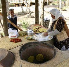 Iranian Homemade Breads
