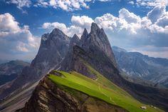 Seceda,Südtirol.