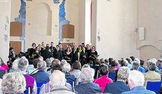 April 2016-Gospelsinger in Weil der Stadt - Klösterle Glück und Freude weitergeben