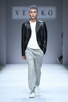 Male Fashion Trends: VEIKKO by Bing Li Spring-Summer 2017 - Mercedes-Benz Fashion Week China