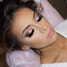 My sleeping beauty✨ loved doing this glam on my stunning bride! Product details to come! | No editing • Just Airbrush | booking info in bio ✨ #180glam