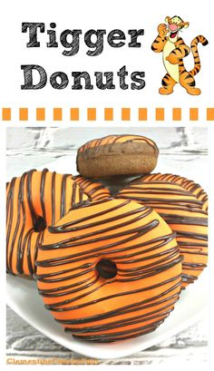 Tigger Tails — Winnie the Pooh Donuts Recipe | Clementine County