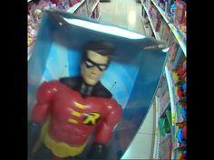 Robin boneco articulado Mattel parceiro do Batman / Bruce Wayne  Brinque...