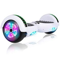 Felimoda Hoverboard, 6.5 Inch self Balancing Hoverboard with LED Light Flashing Wheel for Kids & Adult The UL certified hoverboard meets UL2272 standards for quality charging and electrical performance. Charger included. The Self balancing technology of the hoverboard makes it easier and safer for beginners and amateurs. It is easy to learn and maintain balance let you master the art of balancing in minutes. The 300watt dual motor is engineered to overcome slopes and other general obstacles, Cute Spiral Notebooks, Skateboard, Fantasias Halloween, Electric Scooter, Great Christmas Gifts, Light Colors, Gifts For Kids, Birthday Gifts, Self