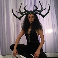 New gear for Thor Ragnarok!  Hela's Headdress is now available in my shop.