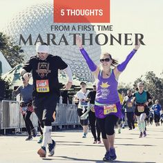 I recently crossed the finish line of marathon number six and in looking back, I have run four of my marathoners with first timers. It's kind of becoming my thing! Miami 2015 with my mom, wel…