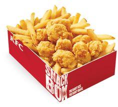 KFC® Popcorn Chicken, Fries and gravy
