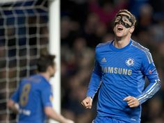 Torres; second of the game puts Chelsea back in full control of the tie #soccer #sports #chelsea