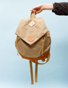 Cosmic Wonder Astral Plains Backpack- Beige