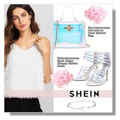"""shein"" by aminkicakloko ❤ liked on Polyvore featuring Alex and Ani"