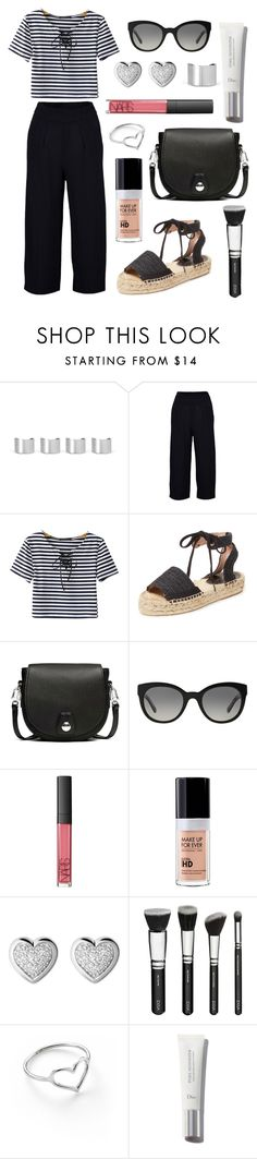 """""""Out and About With Friends"""" by tasha-m-e ❤ liked on Polyvore featuring Maison Margiela, Chicnova Fashion, Maiden Lane, rag & bone, Burberry, NARS Cosmetics, MAKE UP FOR EVER, Links of London and Jordan Askill"""