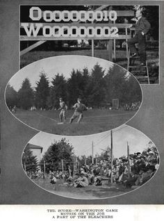 Images from the 1914 UO baseball season.  From the 1916 Oregana (UO yearbook).  www.CampusAttic.com