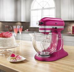 I love my red kitchen adie but seriously who would love this color sooooo pretty .....