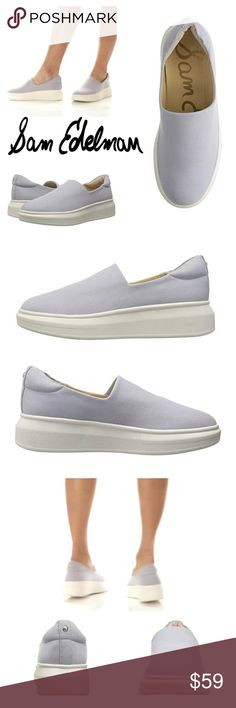 "JUST ARRIVED! PLATFORM SLIP-ON SNEAKERS A stretchy vamp extends the sporty appeal of a super-comfy slip-on sneaker elevated by a trend-savvy platform and wedge heel. ◽️Stretchy Textile upper/synthetic lining and sole ◽️Round toe  ◽️Wide bumper ◽️Stretch elastic vamp  ◽️Slip-on  ◽️Lightly padded footbed ◽️Platform sole ◽️1.75"" heel, 1"" platform ◽️True to size-medium/standard width ◽️If between sizes, order next size down