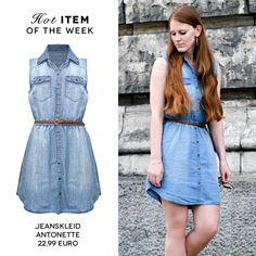 fa989e064066 Dieses Jeanskleid lässt uns vom Sommer träumen!  denim  mycolloseum   musthave  blogger  trending