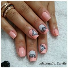 581 Me gusta, 12 comentarios - Alessandra Camilo SC (@alescamilo_) en Instagram Spring Nails, Manicure, Nail Designs, Hair Beauty, Nail Polish, Nail Art, Instagram, Best Nails, Nail Ideas
