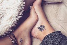 Tatouage cheville femme – coup de cœur pour les dessins discrets avec un effet immédiat
