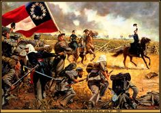American Civil War, The Alabama Regiment, Battle of Bull Run Military Art, Military History, Military Service, Civil War Art, Alabama, Confederate States Of America, Confederate Flag, Southern Heritage, Union Army
