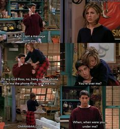 The one where Ross finds out...I think Ross and Rachel made the perfect couple!  <3