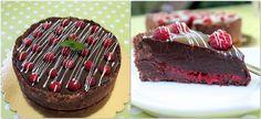 Málnás csoki torta sütés nélkül