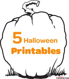 Decorate your humble abode with any or all of these spooky #printables designed for you and your little monster. #Halloween