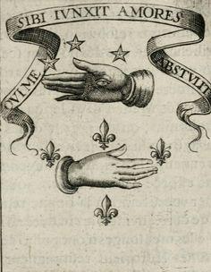 """""""Qui me sibi junxit amores abstulit"""" from """"Devises royales"""" (1621) – Adrian d'Amboise"""