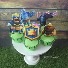 Clash Royale cupcakes
