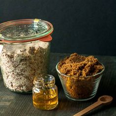 brown sugar olive oil lip scrub #beauty #diy