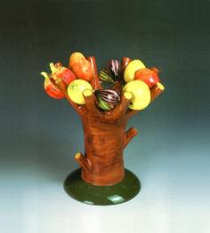 Este-tica, Pablo Echaurren, 2001 Este Ceramiche, courtesy Este Ceramiche - Giovanni Battista Fadigati, Este (PD)