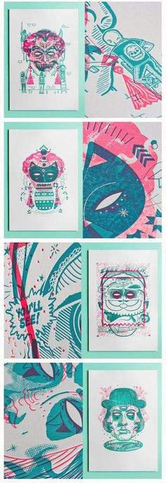 the beauty of letterpress Rituals Exhibition // Letterpress // Illustrations // Stationery & Envelopes