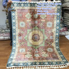 Handmade Silk Carpets & Rugs from Yilong Carpet factory.#art #handmadekashmirsilkrugscarpets #handmadeacrylicrug #handmadecarpetrug #handknottedwoolrugs #handknottedwoolandsilkrugs #handknottedzieglerrug #handknottedrugs #indianhandknottedrugs #handmadecarpetsandrugs #handmadecottonrugs