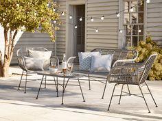 Garden Furniture Design, Outdoor Garden Furniture, Patio Furniture Sets, Rattan Furniture, Outdoor Decor, Furniture Stores, Garden Design, House Design, Outdoor Armchair