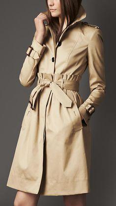 Burberry London Tuck Waist Trench Coat