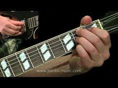 Using Diminished Chords in a Blues Turnaround - YouTube