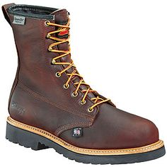 """Weinbrenner American Heritage - Job Pro (Non-Safety)» 8"""" Plain Toe Waterproof / Insulated (Non-Safety)"""