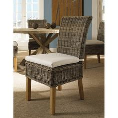 Shop for Boca Dining Chair Kubu With White Cushion. Get free shipping at Overstock.com - Your Online Furniture Outlet Store! Get 5% in rewards with Club O!